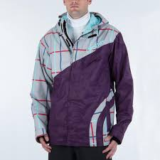 Nomis Touch Snowboard Jacket M Purple Embossed