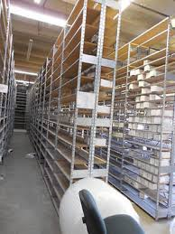 lot of 10 sections used backroom shelves fixtures auto parts shelving