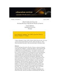 black intellectual genocide an essay review of iq and the wealth  black intellectual genocide an essay review of iq and the wealth of nations pdf available