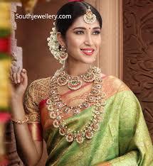 South Indian Jewellery Latest Designs Kundan Wedding Jewellery Set Indian Jewellery Designs