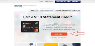 sears credit card application infocard cosears 10 cash back offer on ping myfico