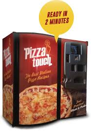 Pizza Vending Machine For Sale Stunning Pizza Touch
