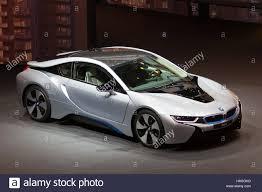 Coupe Series 2013 bmw i8 : FRANKFURT, GERMANY - SEP 20: BMW i8 plug-in hybrid at the IAA ...