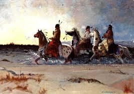 Indian War Horse Paint Chart The Comanche Horsemen Of The Plains Legends Of America