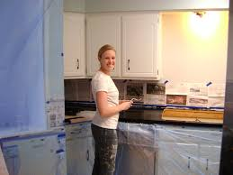 Spray Paint For Countertops Our Hobby House Painted Faux Granite Countertops