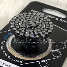 Design Popsocket Cheap Swarovski Crystal Custom Popsockets By Jezelle Designs