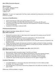 Back Office Executive Resume Back Office Executive Resume Sample