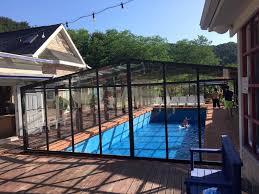residential swimming pool enclosure