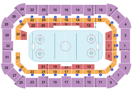 Dow Event Center Seating Chart Saginaw