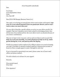 Format For Sponsorship Letter New Sample Sponsorship Request Letter For Student Rightarrow Template