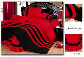 igrab me 72pcent off pure red and black color bedding sets queen king 4pcs stripe cover bed sheet pay 25 instead of 90 everyday deals