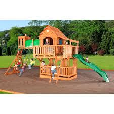 Woodridge Cedar Swing Set With Slide And Free Shipping Original Cedar Play Teepee A How To