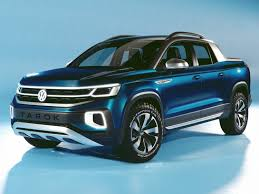 VW pickup-truck concept at New York International Auto Show 2019 ...