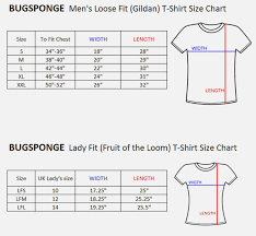 Fruit Of The Loom Lady Fit Size Chart Fruit Of The Loom Ladies T Shirt Size Guide Nils Stucki