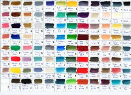 Colour Chart For Scalecolor Paints From Scale75 Minipainting