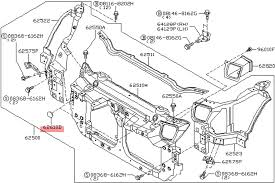 Nissan infiniti nissan oem radiator support core blind plug cover rh conceptzperformance nissan 350z suspension diagram radio wiring diagram for 03