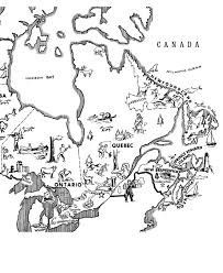 Small Picture Canada Day Coloring page Map of Eastern Canada GEOGRAPHYNorth