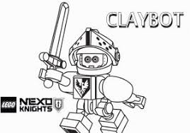 Nexo Knight Coloring Pages Lego Nexo Knights Beast Master Coloring
