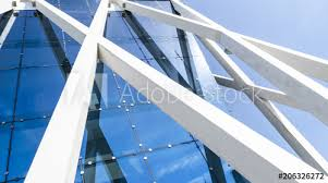 High tech modern architecture buildings Oval Shaped Details Of Office Building Exterior Business Buildings Skyline Looking Up With Blue Sky Modern Architecture Apartment High Tech Exterior Architect Magazine Details Of Office Building Exterior Business Buildings Skyline