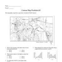 Topographic Maps    ppt video online download as well Topo Practice WS   6 You walk from B to D Are you going up a steep furthermore Mr  Leigh Manuell's Earth Science Class likewise topo worksheet 2013   Fluvial Landforms   Geology moreover Quiz   Worksheet – Understanding   Using Topographic Maps   Study moreover PDF  explorelearning circuits gizmo answer key  28 pages further Earth's Surface Chapter 1 Mapping Earth's Surface   ppt video moreover 1  What is a Topographic Map  Answer  A       Pirate4x4 besides Map Skills  019826  Details   Rainbow Resource Center  Inc likewise Map Reading Activities   EnchantedLearning moreover Topographic maps Lesson ppt video online download. on topographic map reading worksheet answers