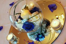 Fish Bowl Decorations For Weddings Hire Table Centrepieces Deans Chair Covers 84