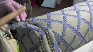 decorative nails for furniture. Upholstery Installing Decorative Tacks In A Wingback Chair Nails For Furniture