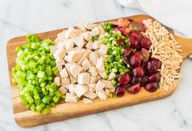 chicken salad with mayo recipes. Modren With The BEST Creamy Greek Yogurt Chicken Salad With Dill Grapes And Almonds  No Inside With Mayo Recipes R