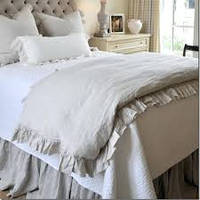 linen quilt king french ruffled linen duvet cover king size flax linen bedding queen washed bed linen quilt king bedding