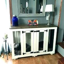 wooden dog crate furniture. Wood Dog Crate Furniture Kennel End Tables Large Wooden Fancy Crates
