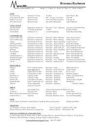 Film Resume Format Film Resume Template Film Producer Resume Film ...