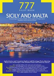 Yachtsman Chart Book 777 Sicily And Malta Piero Magnabosco Marco Sbrizzi Dario Silvestro Edizioni Magnamare Libro Edizioni Magnamare