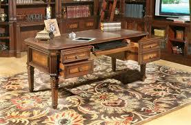 office furniture desk vintage chocolate varnished. Corsica Writing Desk In Antique Vintage Dark Chocolate Finish By Parker House - COR-485 Office Furniture Varnished H