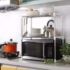 Steel Shelf For Kitchen Popular Metal Microwave Shelf Buy Cheap Metal Microwave Shelf Lots
