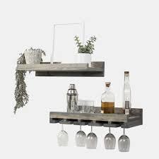 14 wall mounted wine glass racks vurni