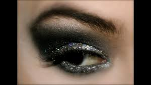 demo disco new years eve silver glitter makeup tutorial