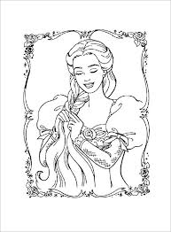 Black Barbie Coloring Pages At Getdrawingscom Free For Personal
