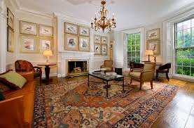 Middle East Living Room With Persian Rugs And Wall Framed Decor (Photo 4 of  15