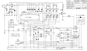 binatone colour tv game mk  model no     circuit diagram