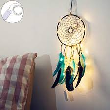 Dream Catcher Kits For Kids Fascinating Amazon Blue DIY Dream Catcher Kit For Kids Or Car Handmade