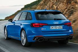 New Audi RS4 Avant unveiled with 125lb ft torque boost   Autocar