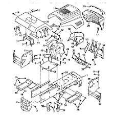 craftsman lawn mower electrical diagram tractor repair and cub cadet wiring harness diagram also 16 garden tractor wiring diagram and parts list further 3