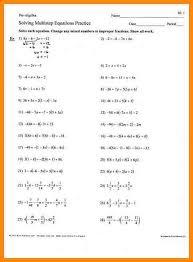 multi step equations worksheet free worksheets library