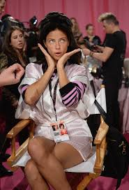 victoria s secret model adriana lima prepares at the 2016 victoria s secret fashion show hair and make