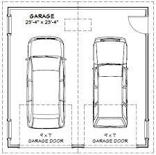 2 car garage door dimensionsSimple Standard 2 Car Garage Door Size Interior  Home Garage Ideas
