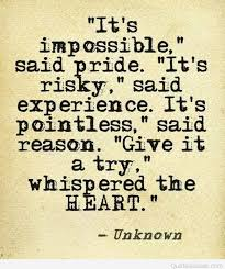 heart find love quote unknow author