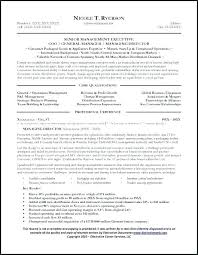 Sample Hotel General Manager Resume General Manager Resume Examples