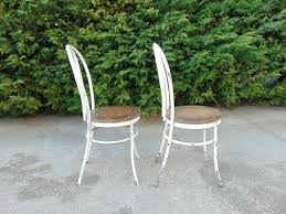 vintage garden chairs set of 2 for