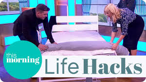 life s the easy way to change a duvet