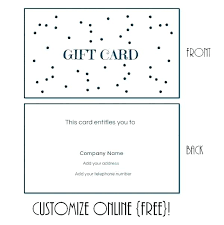 Gift Certificate Template Printable Free Printable Massage Coupon Babysitting Gift Certificate