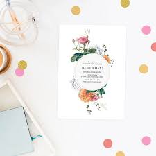 495 best sail and swan wedding invitations images on pinterest Budget Wedding Invitations Canberra floral birthday invitations pink peach vintage botanical flowers rose roses birthday invites australia perth sydney melbourne Budget Wedding Invitation Packages